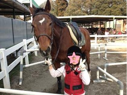 ももっち乗馬体験-2paint 120320