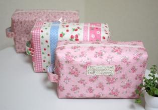 オムツポーチ ピンク系3種類120322