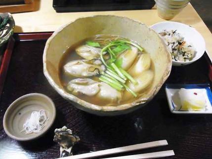 11-11-11 牡蠣そば