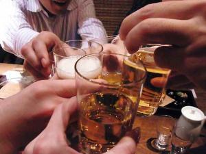 11-11-17夜 ビア乾杯