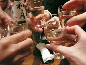 11-11-17夜 酒乾杯