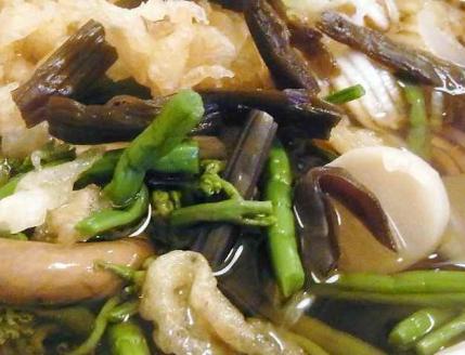 12-1-4 たぬきの山菜