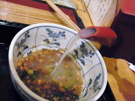 12-1-23 蕎麦湯