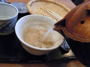 12-1-31 蕎麦湯