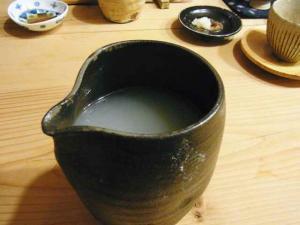 12-2-2夜 蕎麦湯