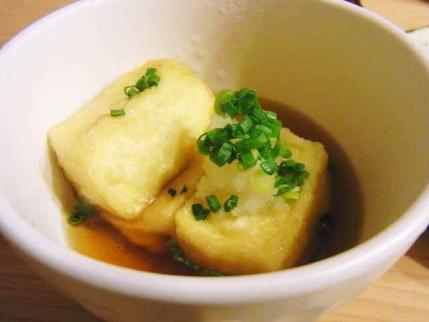 12-2-2夜 揚げ出汁豆腐