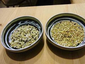 12-2-2夜 蕎麦の実