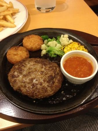 チーズinハンバーグ