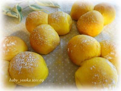 20110906_かぼちゃパン
