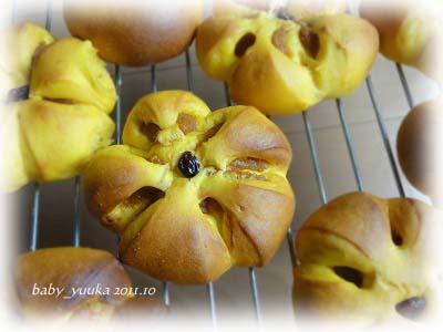 20111029_かぼちゃパン