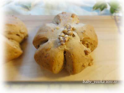 20111102_黒蜜くるみパン