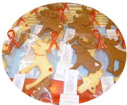トナカイのクッキー