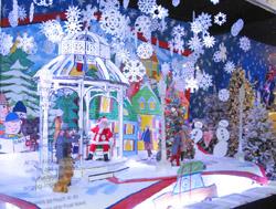 街はすでにクリスマスです