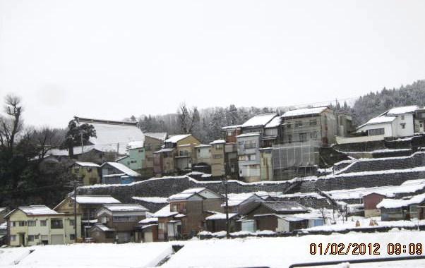 門名寺の大屋根