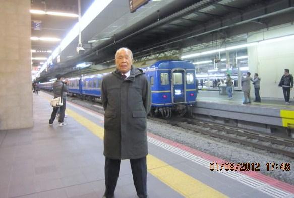 特急日本海発車