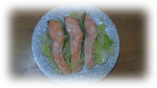 鮭と野菜の塩麹蒸し