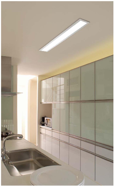 キッチン蛍光灯2