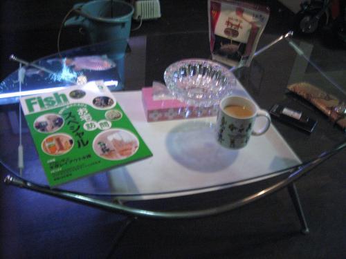 本日購入したテーブル