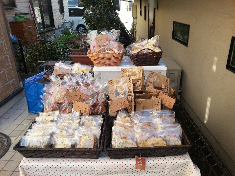 mamacafeイベント焼き菓子