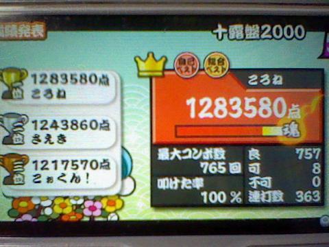 十露盤2000 可8 128,3万