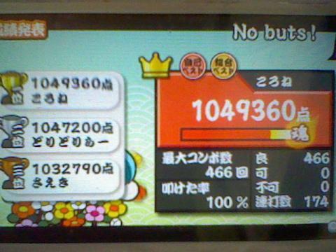 No buts! 全良 104,9万