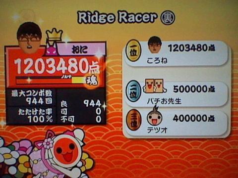 Ridge Racer(裏) 全良