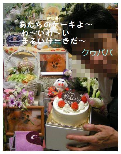 あたちのケーキよ~