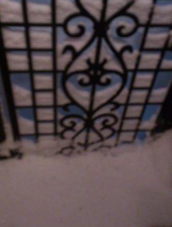 雪が積もるよ