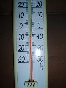 どうりで寒いわけだ