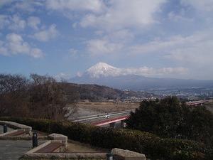 快晴!富士山