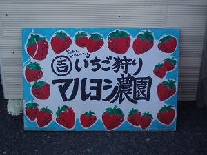 イチゴ食べ放題