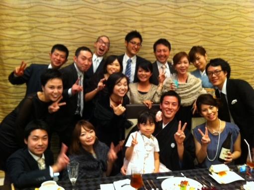 カウTVクルー田中俊輔の結婚式(2011年11月)