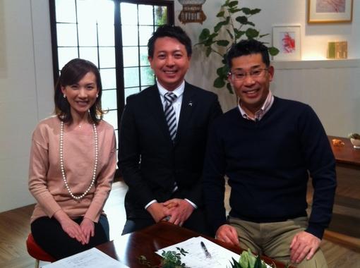 ナカジーこと中島浩二さんと原田和江さんと共にTVQ「ぐっ!ジョブ」に出演。コメンテーターです。