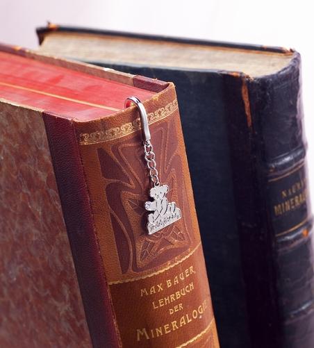 テディベアのブックマーカー