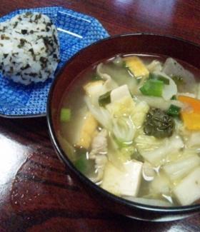 2011 芋堀 お昼