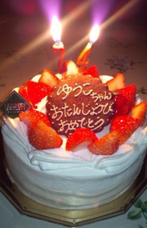 2012 裕子の誕生ケーキ