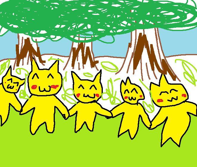 ピカチュウの森