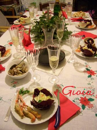 新年テーブル