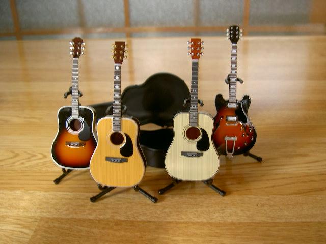 ギターフィギア 001