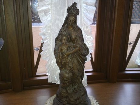 アンティーク マリア像