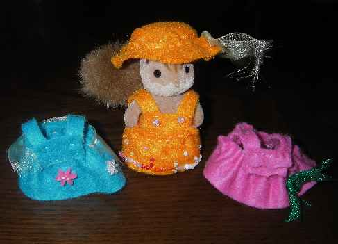 chi-の手作り人形服