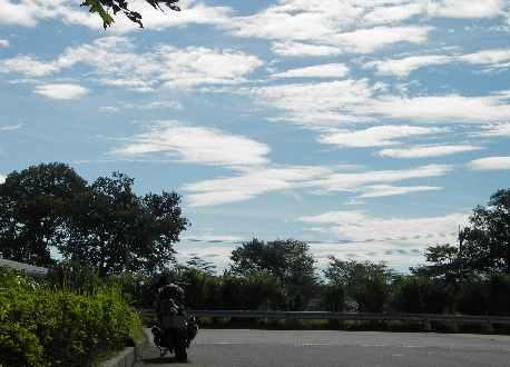空と雲とらいおん丸