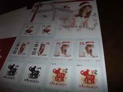 KOKIA記念切手