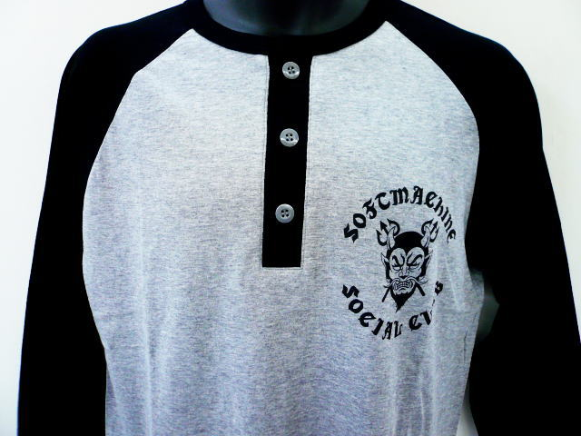SOFTMACHINE SOCIAL CLUB RAGLAN