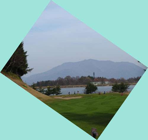 今日の飯綱高原ゴルフコース