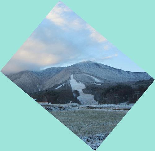 今日のいいづなリゾートスキー場