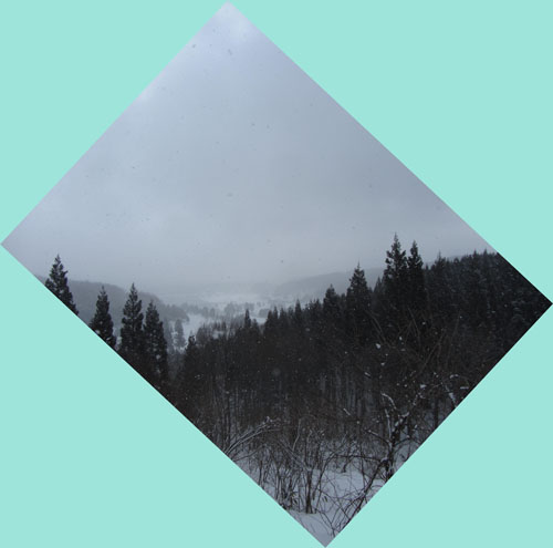 4月7日 雪