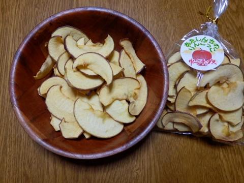 リンゴチップス