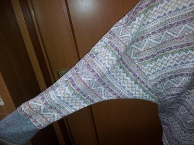 Tさんノルディックセーター (2)