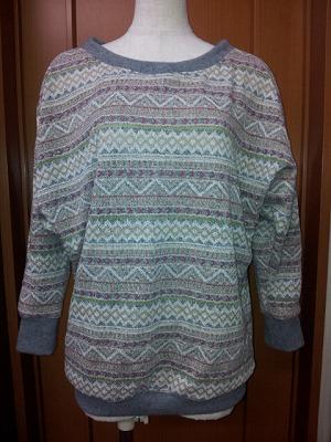Tさんノルディックセーター (1)